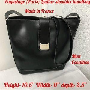 Paquetage Leather shoulder bag